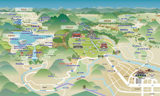 Nikko Map (Traditional Chinese)